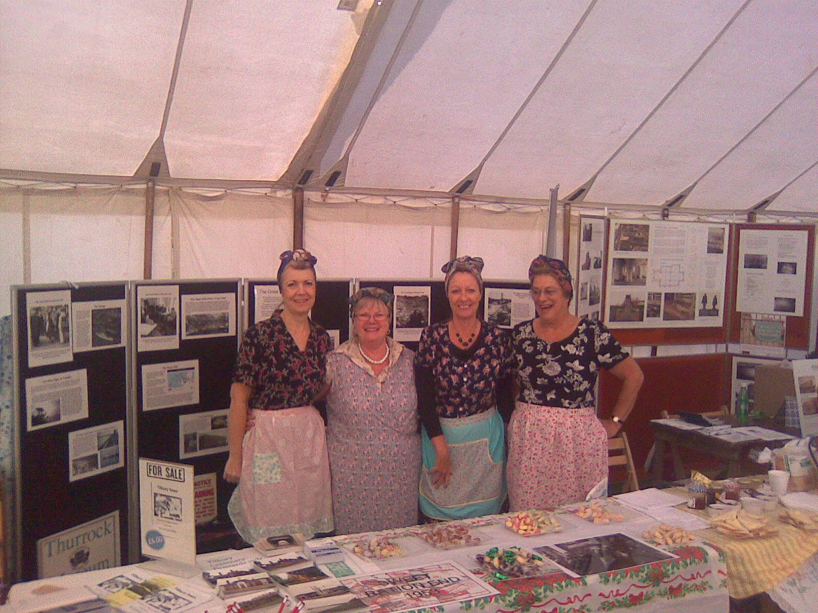 Orsett show tea ladies