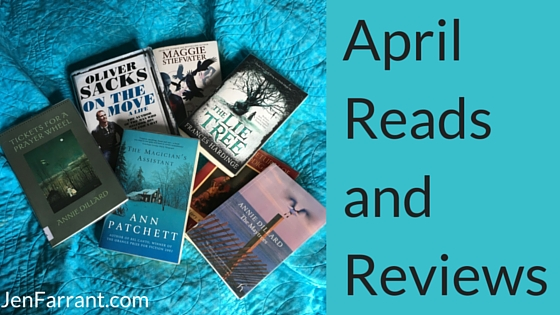 April Reads and Reviews
